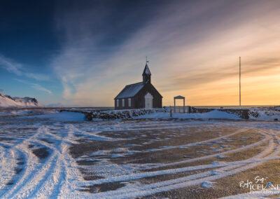 Búðakirkja at Snæfellsnes - West │ Iceland Landscape Photography