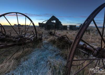 Eyðibýlið Bjarg Abandoned farm – South West │ Iceland Landscape