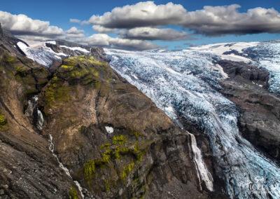 Eyjafjallajokull Vocano Glacier │ Iceland Landscape Photograph