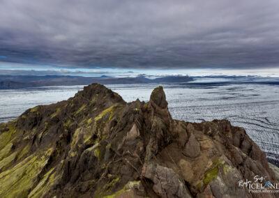 Færnestindar mountains in Vatnajökull Glacir Iceland Landscap