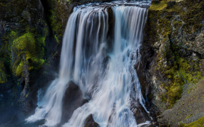 Fagrifoss Waterfall in the Highlands │ Iceland Landscape Phot