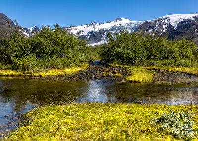 Falljökull and Virkisjökull Glaciers - South │ Iceland Lands