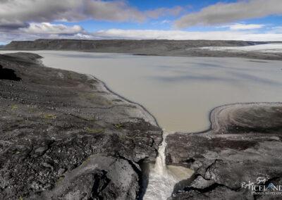 Farið river and the waterfalls Nýifoss Leynifoss │ Icelan