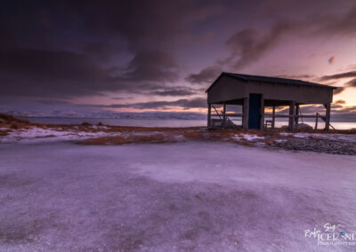 Fish dehydration cabin at Steingrímsfjörður│ Iceland Landsc