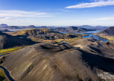 Fjallabak Nyrðri Highlands │ Iceland Landscape from Air