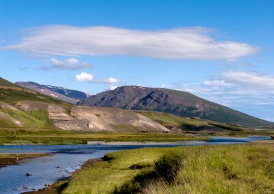Fnjóskárdalur ans river Fnjóská – North │ Iceland Landsc