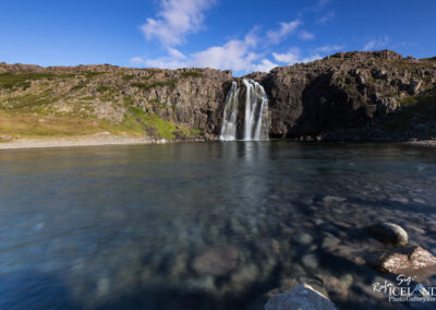 Foss Waterfal in Fossdalur - Westfjords │ Iceland Landscape Ph