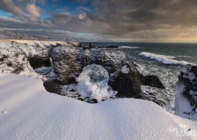 Gatklettur in Hellnahraun at Snæfellsnes - West │ Iceland Landscape Photography