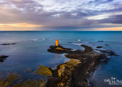 Gerðistangaviti or Atlagerðistangaviti Lighthouse - South West
