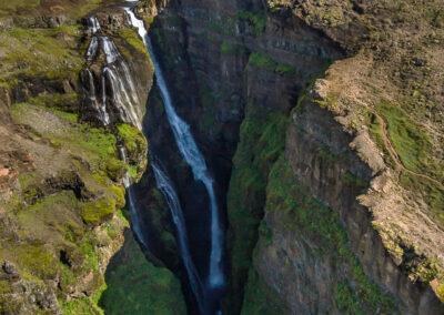 Glymur - Second-highest waterfall in Iceland │ Iceland Landsca