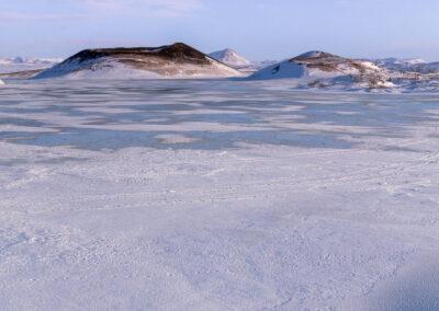 Grænilækur river at Lake Mývatn - North │ Iceland Landscap