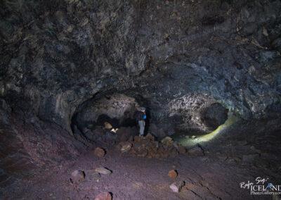 Gullborgarhellir lava cave - South West │ Iceland Landscape Ph