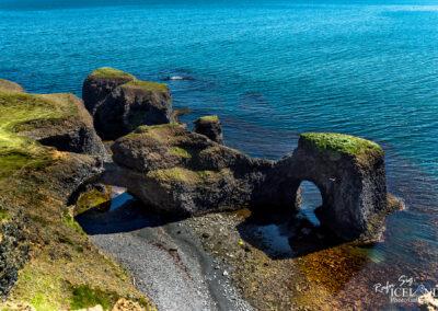 Háabjarg cliffs at Rauðanes in Þistilsfjörðu – Eastfjords