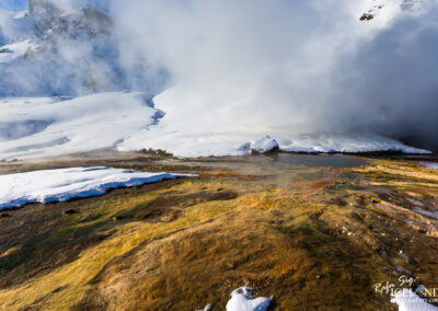 Hengill Geaothermal area │ Iceland Landscape from Air