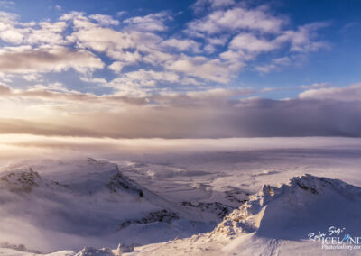 Hengill Mountaintop│ Iceland Landscape From Air