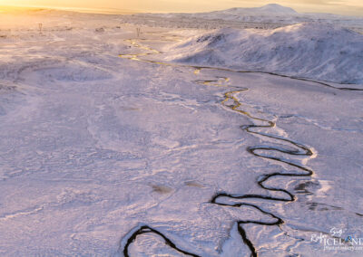 Hengill central volcano area in winter │ Iceland Landscape fro