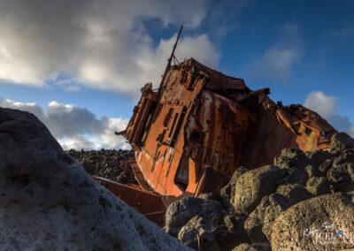 Hrafn sveinbjarnarson III GK 11 at Hópsnes - South West │ Ice
