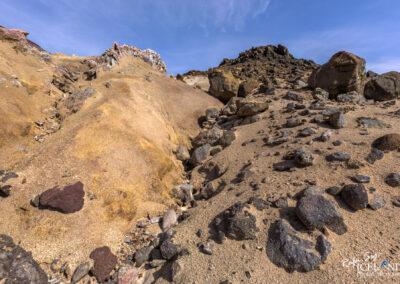 Hverafjall geothermal mountain - South West │ Iceland Landscap