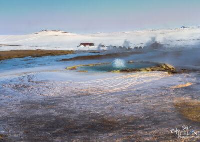 Hveravellir Nature Reserve geothermal in the Highlands │ Icela