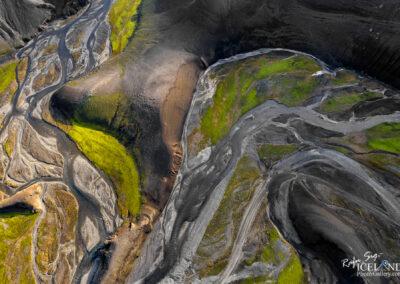 Illagil Canyon at Fjallabak Nyrðri Highlands │ Iceland Landsc