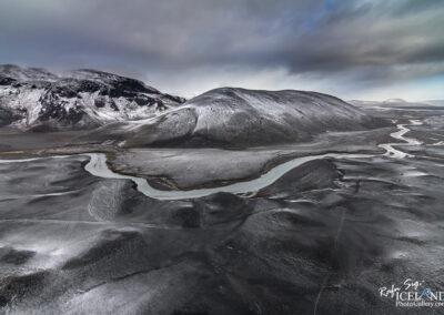 Kaldakvísl river in the Highlands │ Iceland Landscape from Ai