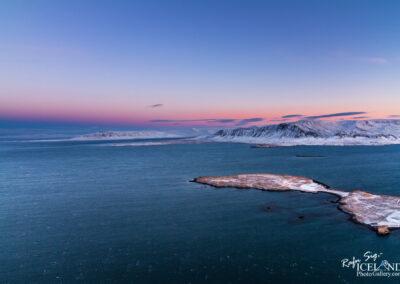 Kollafjörður bay to mountain Esja │ Iceland Landscape from A