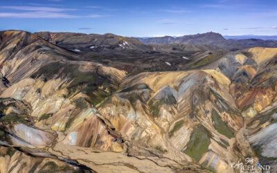 Landmannalaugar Geothermal Highlands area │ Iceland Landscape