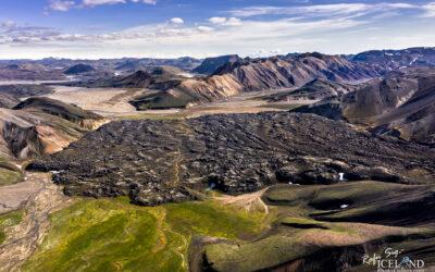 Landmannalaugar area in the Highlands│ Iceland Landscape from