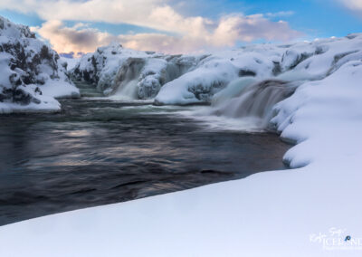 Langárfoss near Borgarnes village - West │ Iceland Landscape