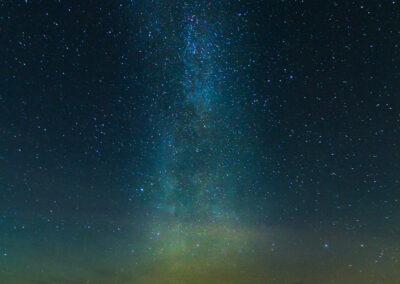 Milky Way galaxy at Kirkjuvogsbás │ Iceland