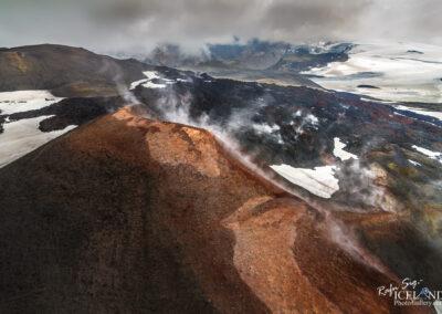 Móði og Magni Volcanos at Fimmvörðurháls │ Iceland Landsc