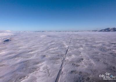 Mosfellsheiði Highlands│ Iceland Landscape from Air