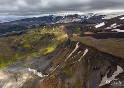 Mýrdalsjökull Glacier │ Iceland Landscape from Air