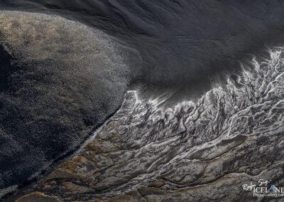 Near Gæsahnjúkur Highlands │ Iceland Landscape From Air