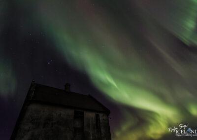Northern lights at Atlagerðistangi│ Iceland