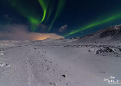 Northern lights at Bláfjöll │ Iceland