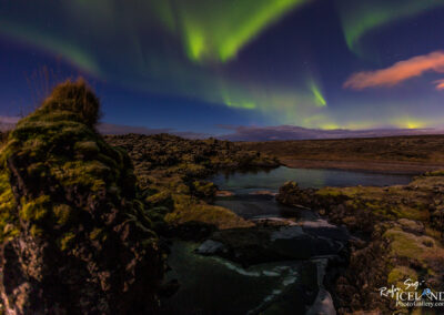 Northern lights at Snorrastaðatjarnir │ Iceland