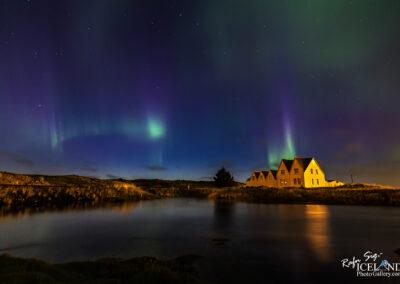 Northern lights at Straumur Farm │ Iceland