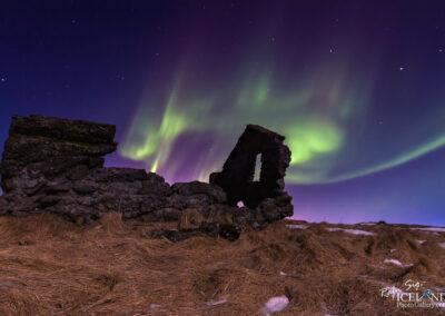 Northern lights at Vatnsleysuströnd │ Iceland