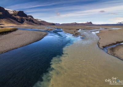 Núpsá and Súla river - South │ Iceland Landscape Photograp