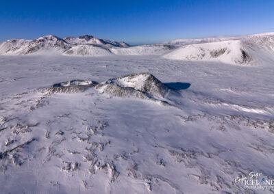 Nyrðri – Eldborg Volcano area │ Iceland Landscape from Air