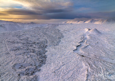 Nyrðri-Eldborg Volcano in the Highlands │ Iceland Landscape F
