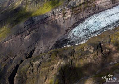 Öræfajökull Glacier Icefall │ Iceland Landscape from Air