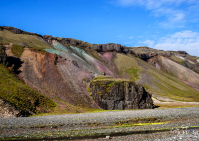 Rauðsvellir cliffs Eastfjods │ Iceland Landscape Photography