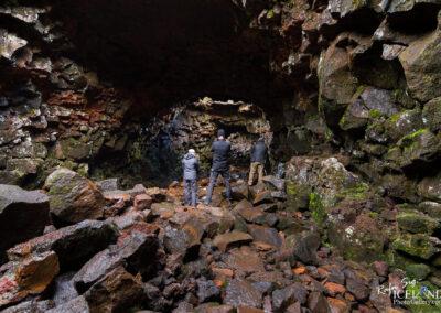 Raufarhólshellir cave - South │ Iceland Landscape Photograph