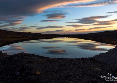 Reflection on a pond - South │ Iceland Landscape Photography