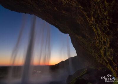 Seljalandsfoss waterfall in the twilight - South │ Iceland La