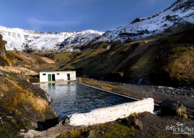 Seljavallalaug Natural swimming pool - South │ Iceland Landsca