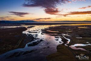 Skaftá River – South – Iceland Landscape from Air