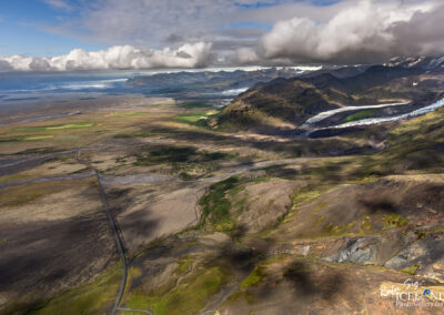 Skaftafell and Skeiðarárjökull Glacier │ Iceland Landscape